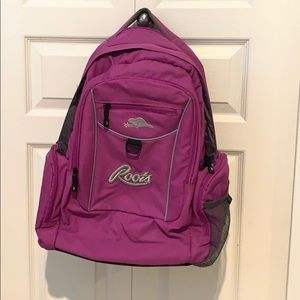 Purple Roots Backpack in Great Condition